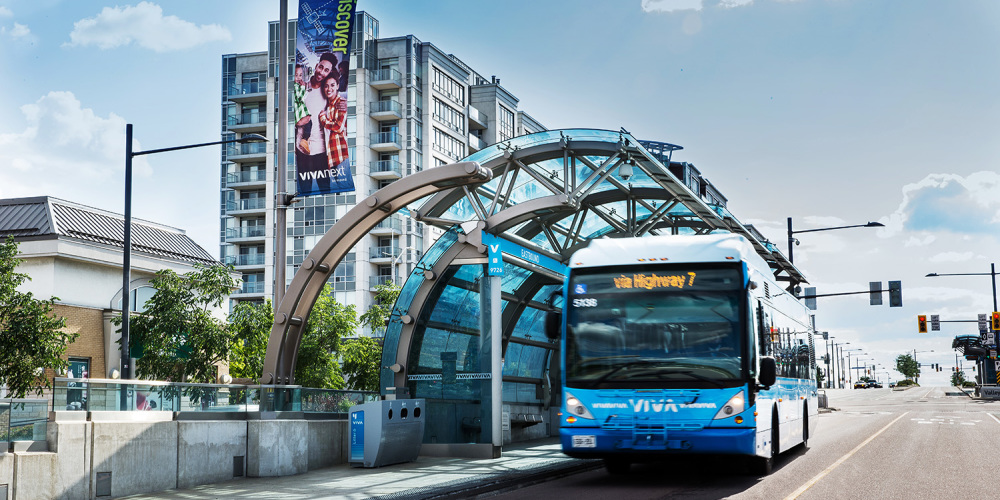 York Region Rapid Transit Corporation (YRRTC) vivaNext Program